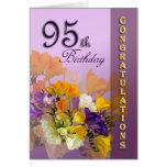 95.a tarjeta de CongratulationGreeting del cumplea