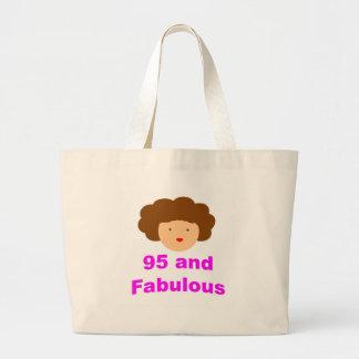 95 and fabulous tote bag
