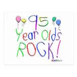 ¡95 años de la roca! postal
