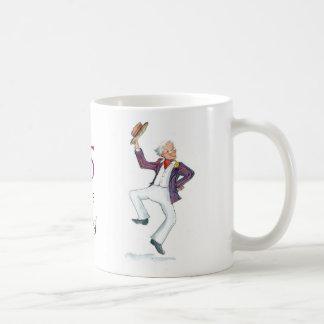 """""""95 años"""" de taza de café joven"""