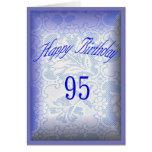 95 años del feliz cumpleaños tarjetas