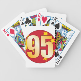 95 CHINA Gold Bicycle Playing Cards
