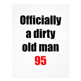 95  Dirty Old Man Custom Letterhead