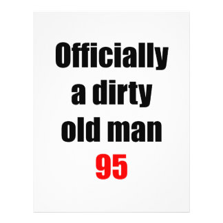 95  Dirty Old Man Flyer