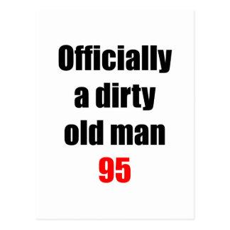 95  Dirty Old Man Postcard