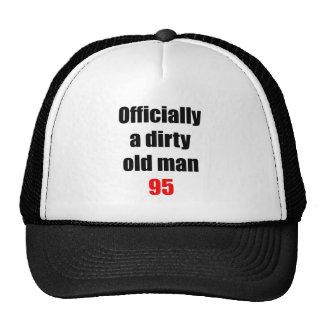 95  Dirty Old Man Trucker Hat
