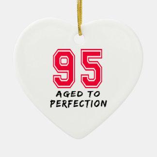 95 envejeció al diseño del cumpleaños de la perfec adorno para reyes