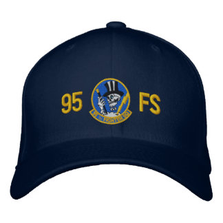 95 FS Wool Flex Fit Golf Hat Embroidered Hat