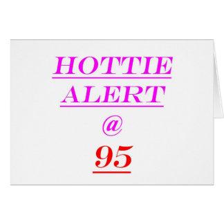 95 Hottie Alert Cards