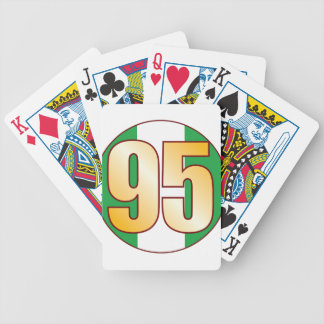 95 NIGERIA Gold Bicycle Playing Cards