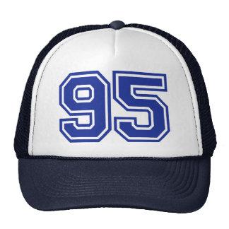 95 - number trucker hat