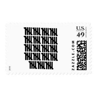95.o cumpleaños sello postal