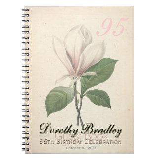 95.o Fiesta de cumpleaños - libro de visitas del Spiral Notebooks