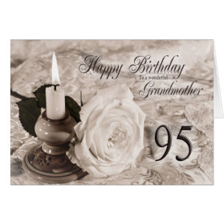 95.o Tarjeta de cumpleaños para la abuela