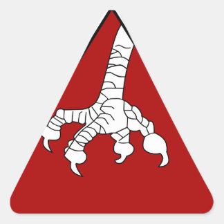 95^ Squadriglia Triangle Sticker