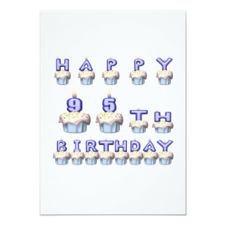 95 Years Old Card