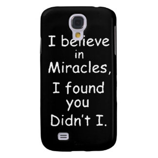 95bef believe miracles found you samsung galaxy s4 case