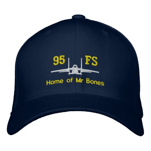 95FS F-15 Golf Hat with Callsign Embroidered Hat
