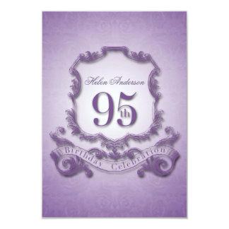 95th Birthday Celebration Vintage Frame -2- Card