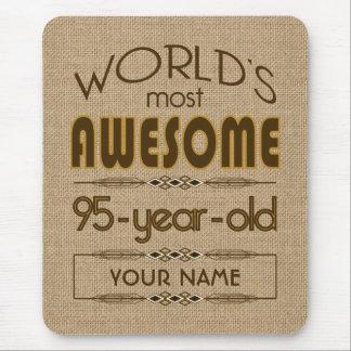 95th Birthday Celebration World Best Fabulous Mouse Pad