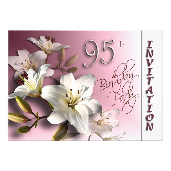 95th Birthday Gifts, Custom 95th Birthday Gift Ideas