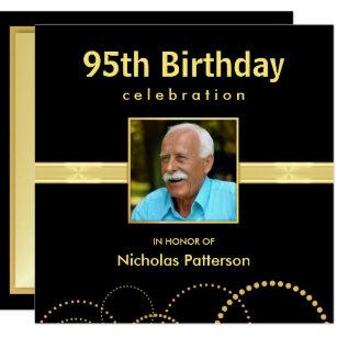 95th Birthday Party Invitations