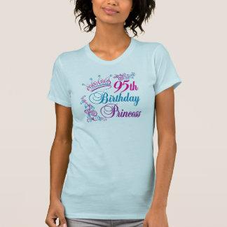 95th Birthday Princess Tee Shirts