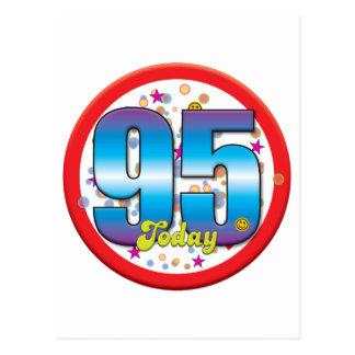 95th Birthday Today v2 Postcards