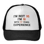 95th cool birthday designs trucker hat