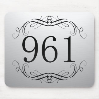 961 Area Code Mouse Pads