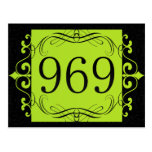969 Area Code Post Cards