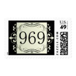 969 Area Code Postage Stamps
