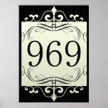 969 Area Code Print