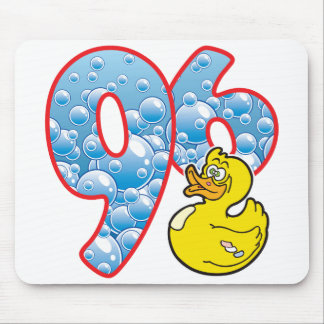 96 Age Duck Mouse Pad