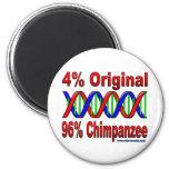 96% chimp 2 inch round magnet