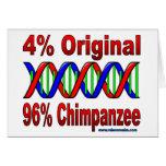 96% chimp card