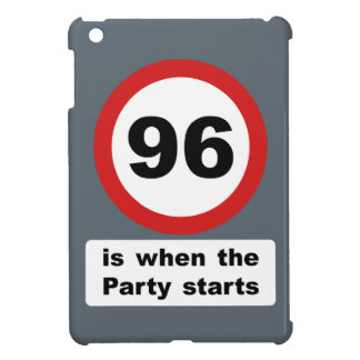 96 is when the Party Starts iPad Mini Cover