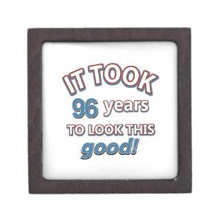 96.os diseños años del cumpleaños cajas de joyas de calidad