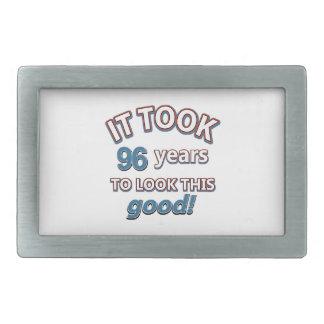 96.os diseños años del cumpleaños hebillas cinturon
