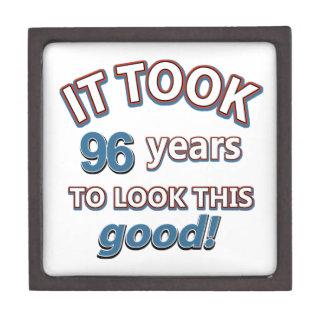 96.os diseños del cumpleaños del año cajas de joyas de calidad