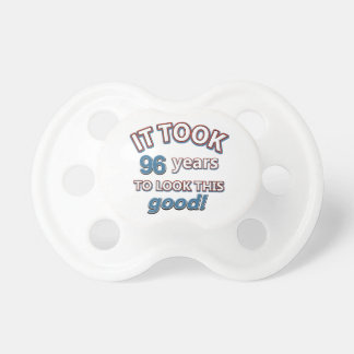 96.os diseños del cumpleaños del año chupetes de bebe