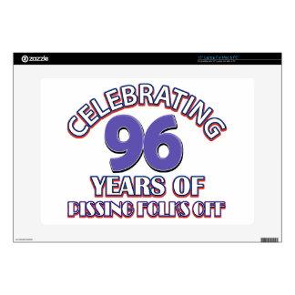 96.os diseños del cumpleaños portátil skins