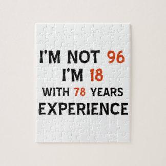 96.os diseños del cumpleaños rompecabeza