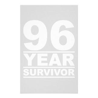 96 year survivor stationery