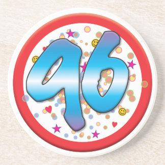 96th Birthday Drink Coaster