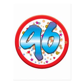 96th Birthday Postcards