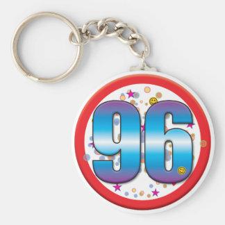 96th Birthday v2 Keychains