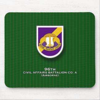 96th Civil Affairs Battalion, Co. A flash Mouse Pad