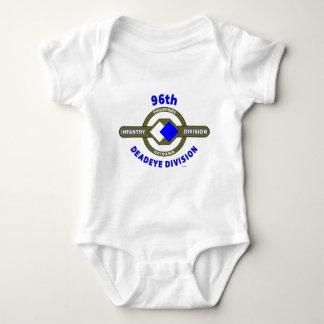 "96TH INFANTRY DIVISION ""DEADEYE"" DIVISION BABY BODYSUIT"
