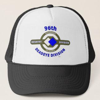 "96TH INFANTRY DIVISION ""DEADEYE"" DIVISION TRUCKER HAT"